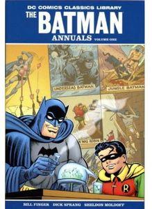 [DC Comics Classics Library: Batman: The Annuals (Hardcover - Titan Edition) (Product Image)]