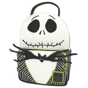 [Nightmare Before Christmas: Loungefly Mini Backpack: Jack Skellington (Product Image)]