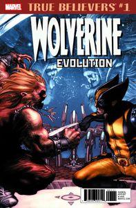 [True Believers: Wolverine Evolution #1 (Product Image)]