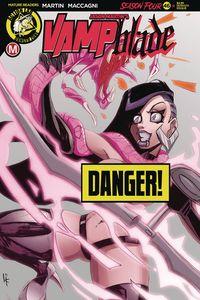 [Vampblade: Season 4 #9 (Cover F Serrato Risque) (Product Image)]