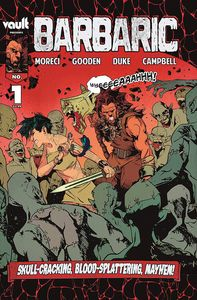[Barbaric #1 (Cover A 4th Printing) (Product Image)]