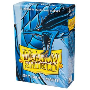 [Dragon Shield: Matte Japanese Size Sleeves 60 Pack: Sky Blue (Product Image)]