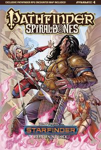 [Pathfinder: Spiral Of Bones #4 (Cover A Santucci) (Product Image)]
