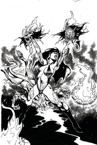 [Vengeance Of Vampirella #11 (Castro Black & White Virgin Variant) (Product Image)]