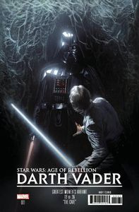 [Star Wars: Age Of Rebellion: Darth Vader #1 (Dellotto Greatest Moments Variant) (Product Image)]