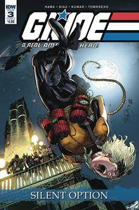 [Gi Joe: A Real American Hero: Silent Option #3 (Cover A Di) (Product Image)]
