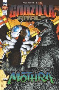 [Godzilla: Rivals Vs Mothra (Cover A Su) (Product Image)]