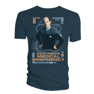 [Star Trek: Voyager: The 55 Collection: T-Shirt: The Doctor E.M.H. (Product Image)]