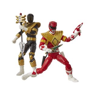 [Power Rangers: Lightning Collection Action Figures: Mighty Morphin Red & Zeo Gold (Product Image)]