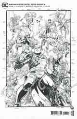 [The cover for Batman/Fortnite: Zero Point #6 (Premium Variant G Art Adams Sketch Compilation Card Stock Variant)]
