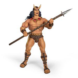 [Conan The Barbarian: Deluxe Action Figure: Comic Book Conan (Product Image)]