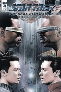 [Star Trek: The Next Generation: Through The Mirror #4 (Cover A Woodward) (Product Image)]