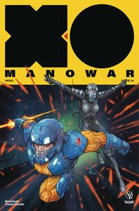 [X-O Manowar (2017) #24 (Cover A Rocafort) (Product Image)]