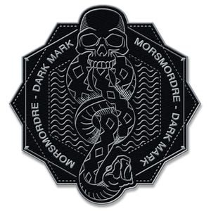 [Harry Potter: Patch: Death Eater Symbol (Product Image)]