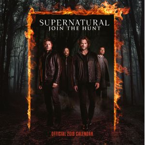 [Supernatural: 2018 Square Calendar (Product Image)]