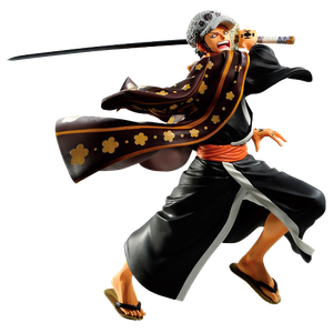 [One Piece: Ichibansho Full Force Figure: Trafalgar Law (Product Image)]