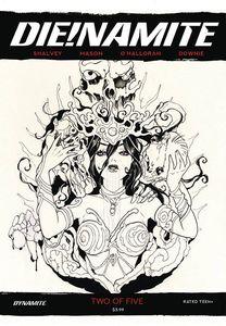 [Die!Namite #2 (Momoko Black & White Variant) (Product Image)]
