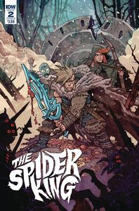 [Spider King #2 (Cover B Rebelka) (Product Image)]