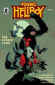 [Young Hellboy: The Hidden Land #1 (Mignola Variant) (Product Image)]