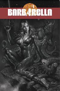 [Barbarella #1 (Cover I Parrillo Black & White Variant) (Product Image)]