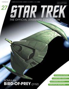 [Star Trek: Starships Figure Collection Magazine #27: Romulan Bird Of Prey (Product Image)]