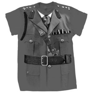 [Doctor Who: T-Shirts: Brigadier Lethbridge-Stewart Costume (Forbidden Planet Exclusive) (Product Image)]
