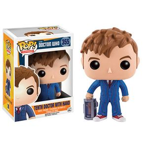 [Doctor Who: Pop! Vinyl Figures: 10th Doctor With Hand (Product Image)]