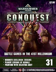 [Warhammer 40K: Conquest: Figurine Collection #31 (Product Image)]