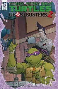 [Teenage Mutant Ninja Turtles/Ghostbusters II #2 (Cover A Schoening) (Product Image)]