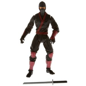 [Marvel: The Wolverine: Movie Wave 1 Action Figures: Red Ninja (Product Image)]