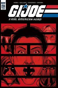 [G.I. Joe: A Real American Hero #239 (Product Image)]