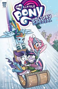 [My Little Pony: Holiday Special 2017 (Cover A Hickey) (Product Image)]