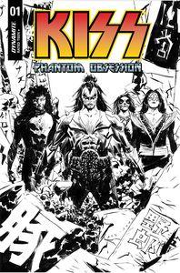 [Kiss: Phantom Obsession #1 (Cover G Lee Line Art Variant) (Product Image)]