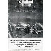 [J. G. Ballard signing Hello America (Product Image)]
