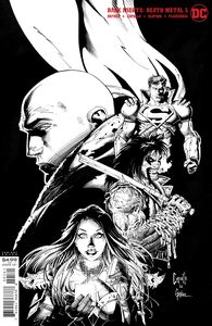 [Dark Nights: Death Metal #5 (Capullo & Glapion Black & White Variant) (Product Image)]