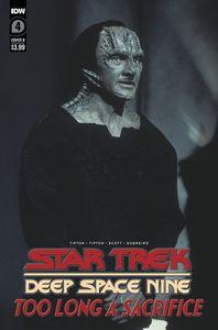 [Star Trek: Deep Space 9: Too Long A Sacrifice #4 (Cover B Photo) (Product Image)]