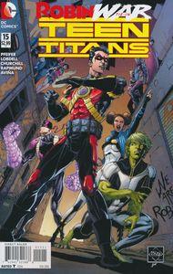 [Teen Titans #15 (Robin War) (Product Image)]