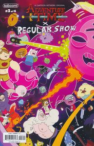 [Adventure Time Regular Show #3 (Main & Mix) (Product Image)]
