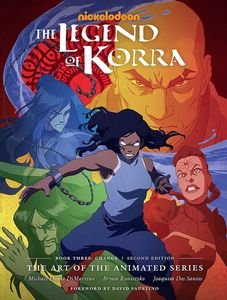 [The Legend Of Korra: The Art Of The Animated Series: Book 3: Change: Second Edition (Hardcover) (Product Image)]