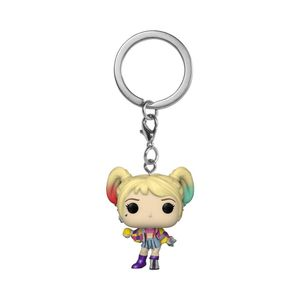 [Birds Of Prey: Pop! Keychain: Harley Quinn Caution Tape (Product Image)]