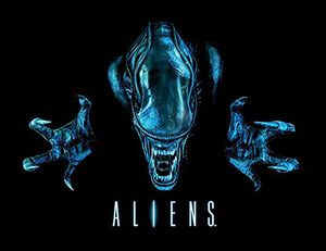 [Aliens: Framed Print: Out Of The Darkness (Product Image)]