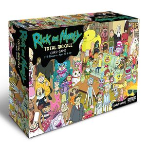 [Rick & Morty: Total Rickall: Co-operative Card Game (Product Image)]