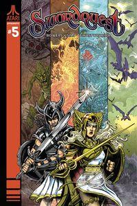 [Swordquest #5 (Cover C Haesar) (Product Image)]