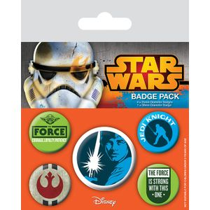 [Star Wars: Badge Pack: Jedi (Product Image)]