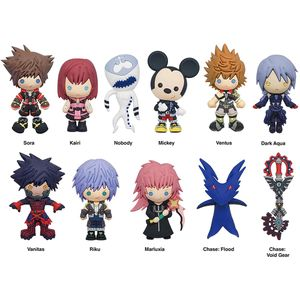 [Kingdom Hearts: Figural Keyring: Series 4 (Product Image)]