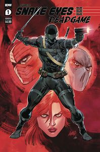 [Snake Eyes: Deadgame #1 (Cover B Liefeld) (Product Image)]