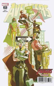 [Avengers #678 (Del Mundo Avengers Variant) (Legacy) (Product Image)]