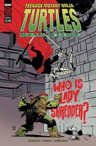 [Teenage Mutant Ninja Turtles: Urban Legends #25 (Cover B Kuhn) (Product Image)]