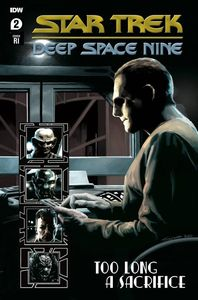 [Star Trek: DS9: Too Long A Sacrifice #2 (Woodward Variant) (Product Image)]
