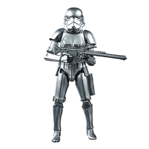 [Star Wars: Black Series Action Figure: Stormtrooper (Carbonised) (Product Image)]